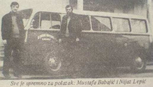 Vremeplov: Mustafa Babajić – kinooperater i Nijaz Lepić – biletar