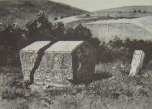 Stećak iz Zgošće, 1903. godina