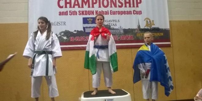 Irma Numanović iz Kaknja osvojila 3. mjesto i bronzanu medalju
