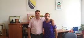 Amel Tuka bio gost u uredu načelnika Kaknja