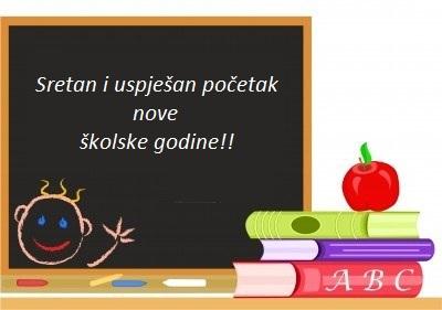 Čestitka povodom početka nove školske godine