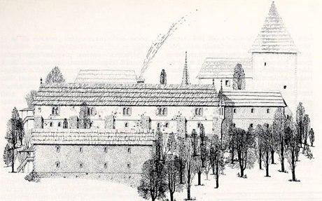 28.decembra 1341.godine prvi put se u pisanim izvorima spominje vladarski dvor u Sutjesci sa dvorskom kapelom posvećenom sv. Grguru čudotvorcu, vezanom za bosansku crkvu