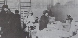 Posjeta UŽOK-a ranjenicima u zeničkoj bolnici, kraj 1992.godine