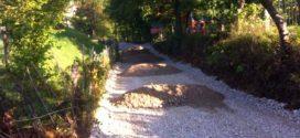 U toku radovi na rekonstrukciji puta koji vodi od ulice Omera Maslića prema greblju Vrtle