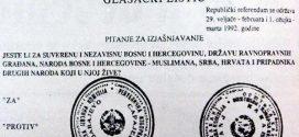 Čestitka povodom 1.marta-Dana nezavisnosti BiH