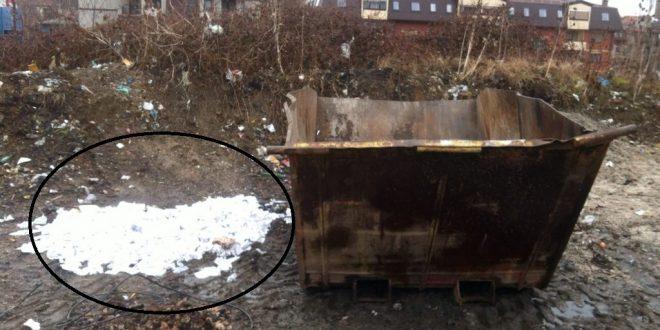 Kladionici kazna od 500 KM zbog odbačene gomile tiketa pored kontejnera u naselju Varda