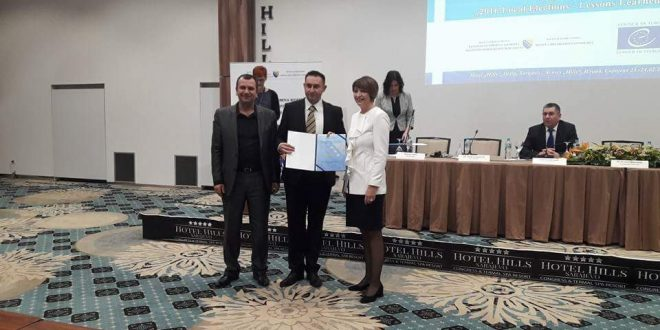 Zahvalnica Centralne izborne komisije za OIK