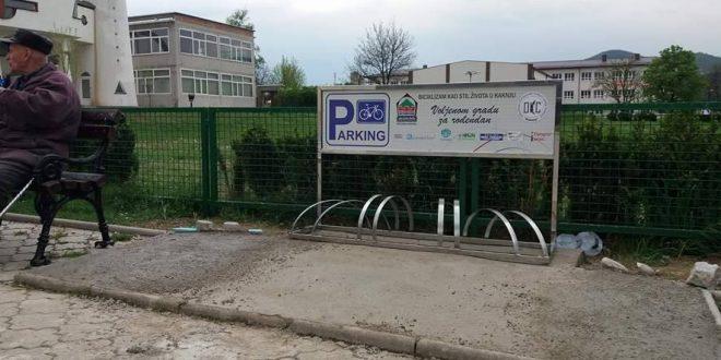 Obilježavanje Dana oslobođenja Kaknja, Dana općine Kakanj i Dana Armije RBiH: Kakanj dobio prva javna parking mjesta za bicikle