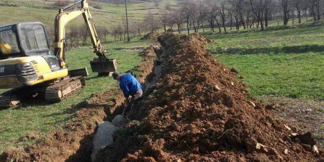 Jačanje infrastrukture: Završeni radovi na na izgradnji kanalizacionog sistema u Kučićima, u toku završni radovi na izgradnji rezervoara Lučani