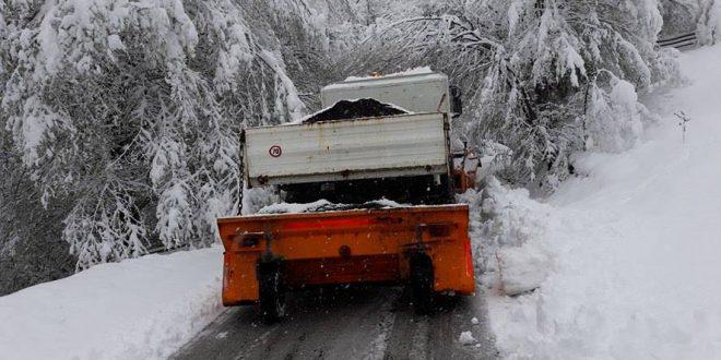 Zimska služba: Angažirana sva raspoloživa mehanizacija
