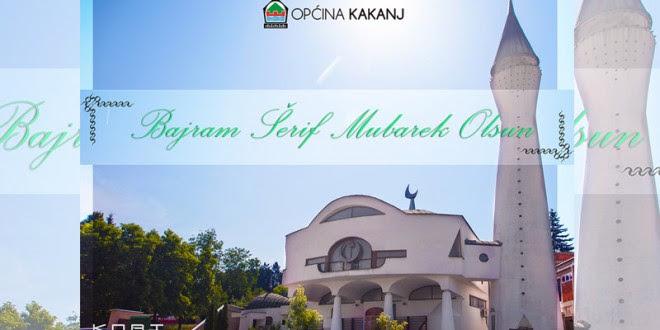 Čestitka načelnika Općine Kakanj i predsjedavajućeg OV povodom Ramazanskog bajrama
