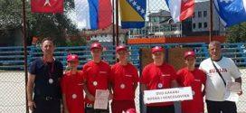 Pioniri Vatrogasnog društva Kakanj osvojili prvo mjesto na manifestaciji Treće međunarodne igre pionira vatrogasaca koja je održana u Jelahu