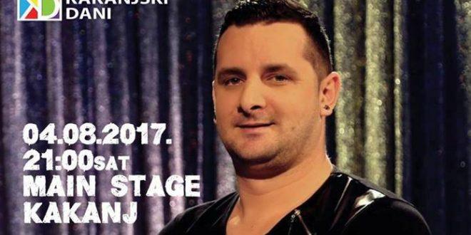 Kakanjski dani 2017: Koncert Adnana Jakupovića u petak 04.08.2017.