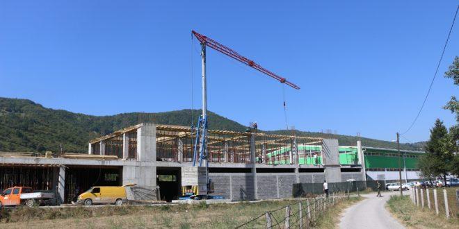 Foto: Kakanjska firma DSM TRADE gradi novi proizvodno-poslovni objekat