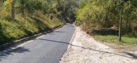 Završeni radovi na sanaciji dionice puta u Poljanima (Priod-Vodarići)
