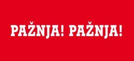 U ponedjeljak i utorak crveni alarm zbog olujnog vjetra: Služba civilne zaštite Općine Kakanj izdala uputu i upozorenje