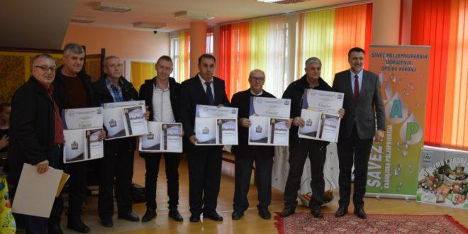 Proglašeni najuspješniji kakanjski poljoprivredni proizvođači za 2017.godinu