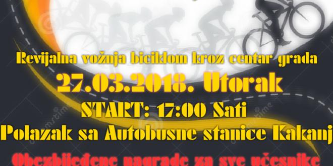 """Povodom 27.marta – Dana akcije protiv prometa: U Kaknju će biti realizirana kampanja pod nazivom """"Razmislite! – biciklisti su dio saobraćaja"""""""