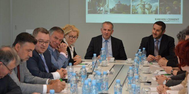 U prostorijama Tvornice cementa Kakanj održana 25. sjednica Poslovnog savjeta Ekonomskog fakulteta Univerziteta u Sarajevu