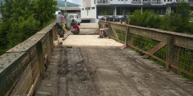 Sanacija mosta u ulici Omera Maslića