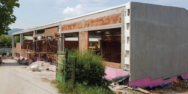 Radovi na sve strane, Kakanj – veliko gradilište: U toku aktivnosti na realizaciji druge faze izgradnje nove sportske dvorane u Kaknju