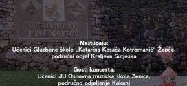 """Najava: Franjevački samostan u Kraljevoj Sutjesci 22.6.2018. godine organizira koncert pod nazivom """"Radost života"""", generalni pokrovitelj koncerta su Općina Kakanj i načelnik Nermin Mandra"""