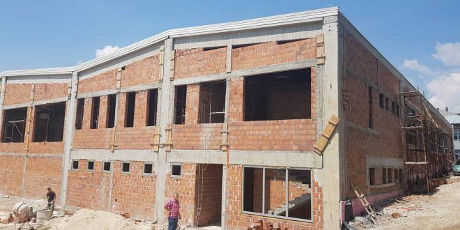 U toku aktivnosti na realizaciji druge faze izgradnje nove sportske dvorane u Kaknju