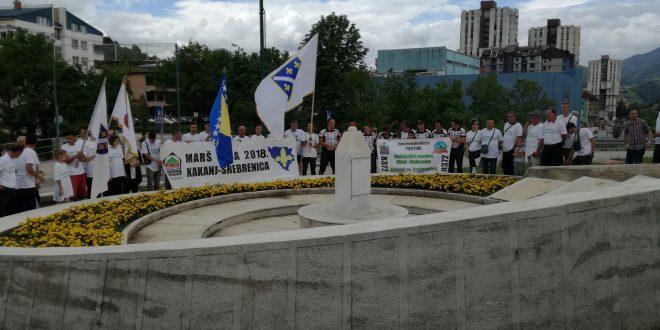 """Načelnik Nermin Mandra:Poštovani učesnici """"Marša mira"""" i biciklističkog maratona, ponesite u Srebrenicu našu poruku ohrabrenja koju iz Kaknja upućujemo preživjelim žrtvama genocida, a posebno srebreničkim majkama koje u našim srcima zauzimaju posebno mjesto"""
