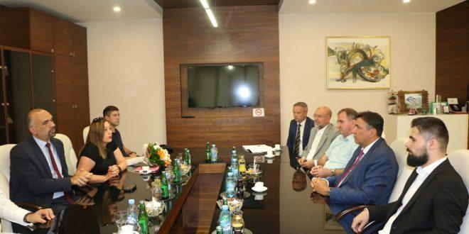 Kakanj posjetio dr.sc. Marko Jelić, gradonačelnik Grada Knina (Republika Hrvatska)