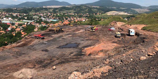 RMU Kakanj – privredni subjekt sa osjećajem za zajednicu i ljude u nevolji: U toku radovi na sanaciji deponije rudničke jalovine Bare