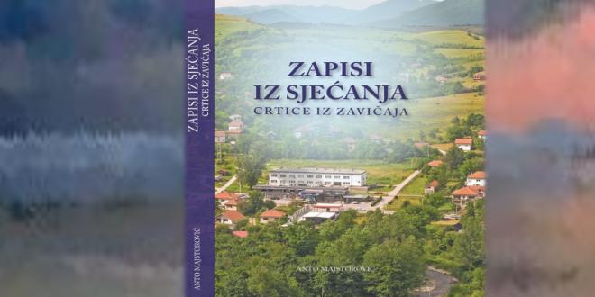 """Promocija knjige """"ZAPISI IZ SJEĆANJA"""""""