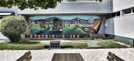 Foto: Mural na zidu Muzeja Kaknja
