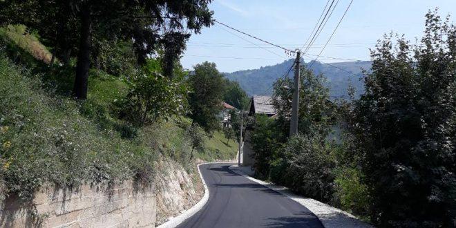 Završeni radovi na sanaciji dionice ceste kroz Papratnicu