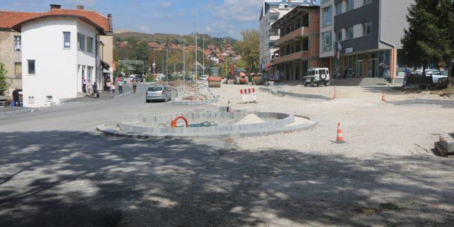Foto: Novi kružni tok i nova saobraćajnica