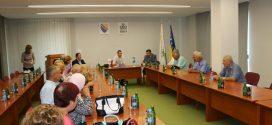 U Kaknju održana sjednica Upravnog odbora Organizacije porodica šehida i poginulih boraca ZDK