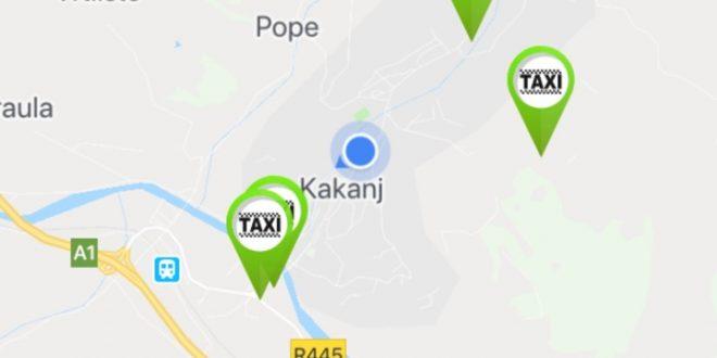 """Novo u Kaknju: Pozivanje taksi vozila uz pomoć aplikacije """"mojTaxi"""", instalirajte aplikaciju na mobitelu veoma jednostavno sa Google Playstore"""