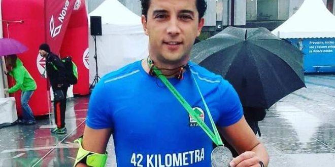 Naš sugrađanin Igor Majdanđić istrčao svoj prvi maraton u Sloveniji