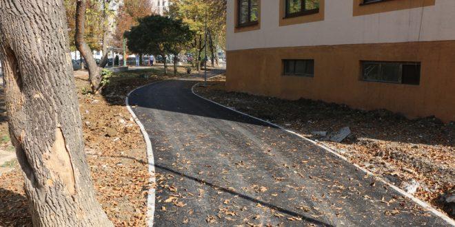 Foto: Nastavak izgradnje biciklističke staze