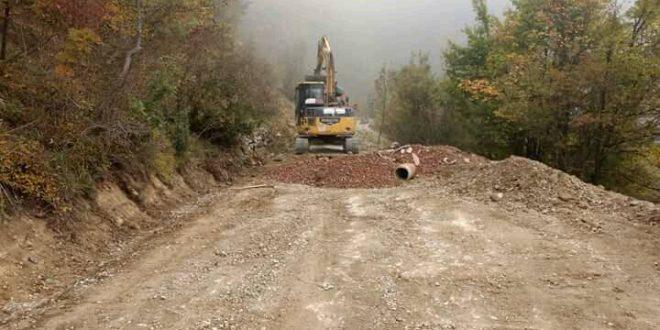 Počeli radovi na rekonstrukciji dionice ceste za Semetiš (MZ Zagrađe)