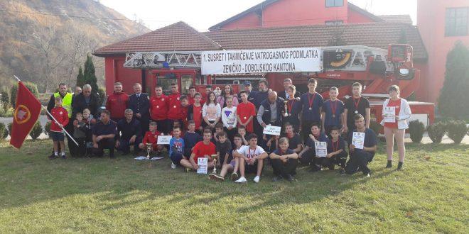 U Kaknju upriličen Prvi susret i takmičenje vatrogasnog podmlatka Zeničko-dobojskog kantona