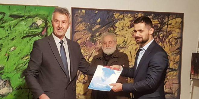 """""""Dani Zaima Muzaferije 2018"""": U Kaknju otvorena izložba akademskog slikara Mehmeda Klepe"""