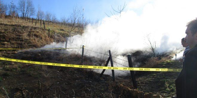 Na lokaciji u Zgošći zabilježena pojava zapaljenja uglja u utrobi zemlje: Potrebne mjere će biti poduzete nakon dostavljanja izvještaja RMU Kakanj