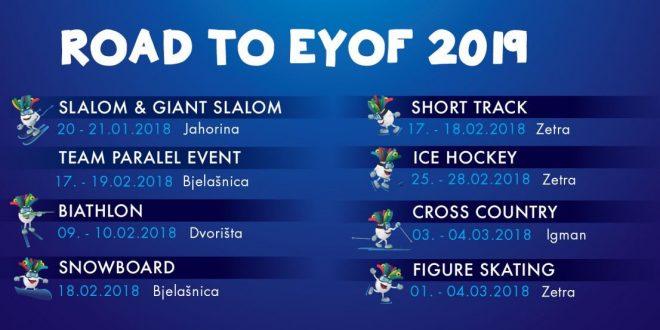 Grad Sarajevo učinio lijep gest prema Kaknju: Stigle pozivnice za ceremoniju otvaranja EYOF-a 2019.