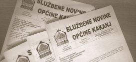 Službene novine Općine Kakanj