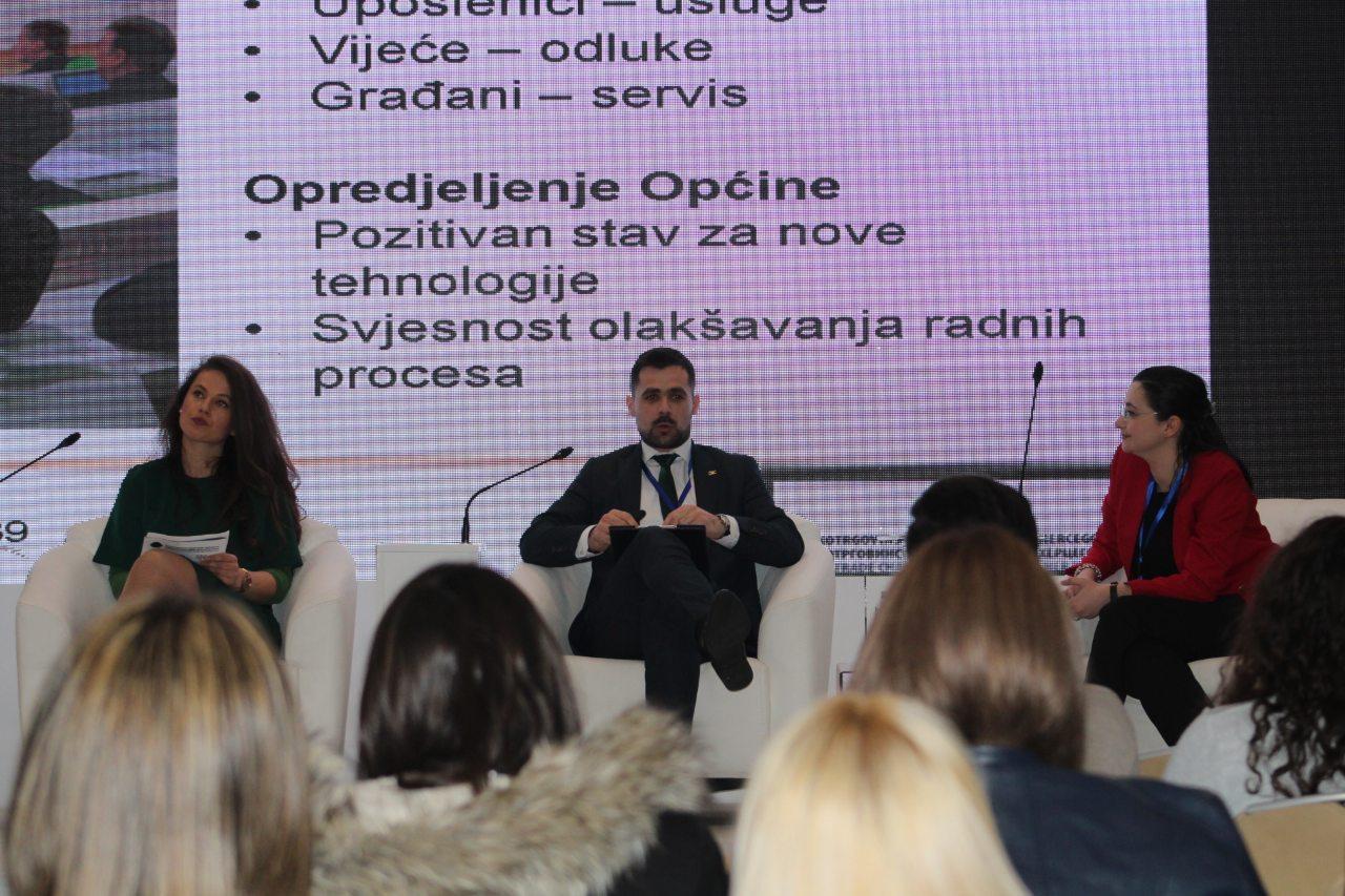"Načelnik Općine Kakanj Aldin Šljivo govorio na regionalnoj konferenciji ""Digitalizacija bh društva"""